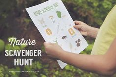 Printable Nature Scavenger Hunt