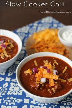 Slow Cooker Chili -