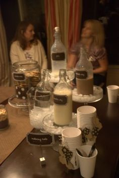 """Smart Cookie Party"" ...beverages"