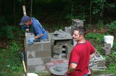 Building a smokehouse…