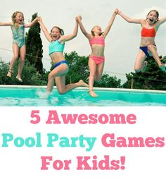 awesome pool party games for kids