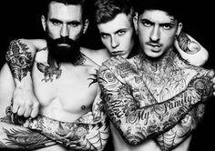 men tattoos, beard, jake gyllenhaal, inked men, tattooed guys, tattoo photography, friend tattoos, tattoo ink, male models