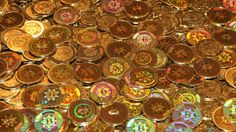 What a pile of bitcoins could look like, but doesn't.
