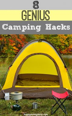 I never realized how easy it was to camp! These simple tips made camping a lot more fun and easier, too!
