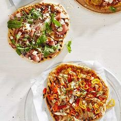 Grilled Pizza Crusts