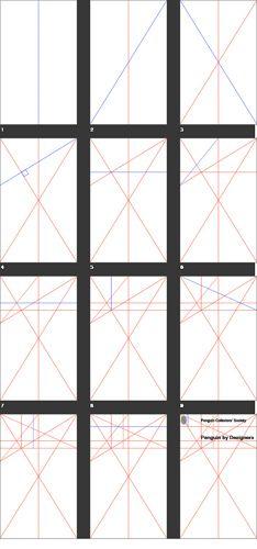penguin book grid