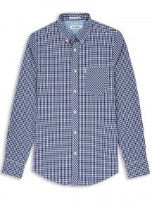 Blue Classic Gingham Check