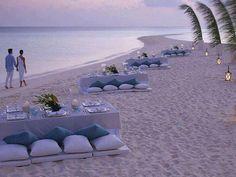 vacation spots, wedding receptions, beach party, dinner time, dream vacations, beach weddings, anniversary ideas, parti, destination weddings