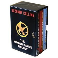 The Hunger Games Trilogy Box Set by Suzanne Collins (Hardcover) AWESOME!
