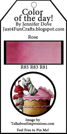 Copic Rose