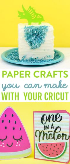 We have rounded up these Paper Crafts You Can Make with Your Cricut and we think you're going to love them! #cricut #diecutting #diecuttingmachine #cricutmachine #cricutmaker #diycricut #cricutprojects #cricutcrafts