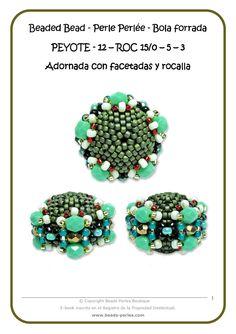Beads Perles: beaded bead tutorial