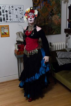 Day of the Dead - Halloween costume