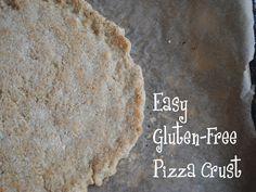 Gluten Free & Vegan Pizza Crust