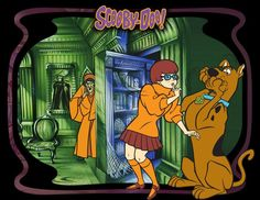 Scooby Doo With Velma With Ghosts
