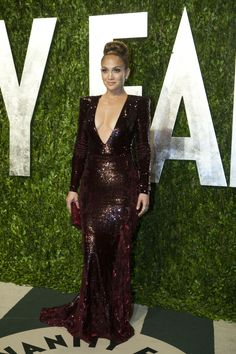 J. Lo @ the #VanityFair #Oscars party.