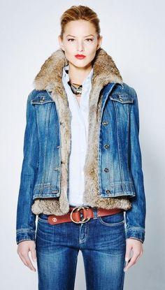 cloth, armani aw, jean jackets, denim, cowgirl, belt, fur, blue jean, coats