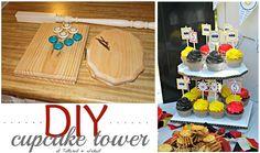 DIY cupcake tower!