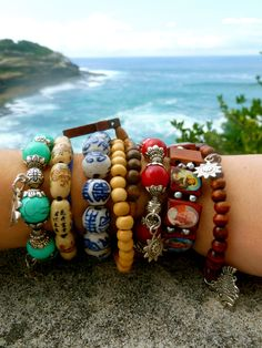 beaches, making bracelets, boho bracelet, bangl, accessori