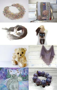 Chocolate and lilac by Radianna HappyEight on Etsy--Pinned with TreasuryPin.com