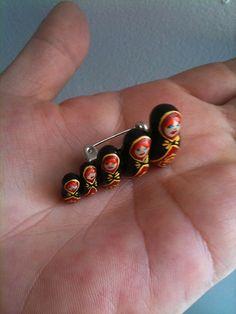Matryoshka pin