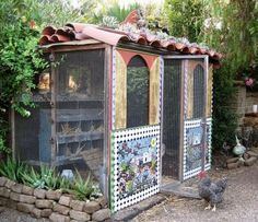 The sweetest little chicken coop