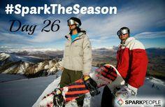 sparktheseason winterwel, sparkpeopl fit, healthi holiday, health challenge, fit winter, motivating quotes, winter health, gezond afslanken