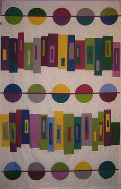 Modern Mystery Quilt by StaceyinStitches, via Flickr