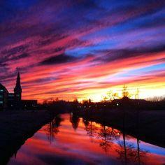 Another fantastic sunset over the #Baylor University campus! (photo via hanamustafa_/bayloruniversity on Instagram)
