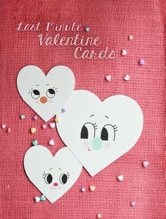 Last minute Valentines from Kitschy Digitals