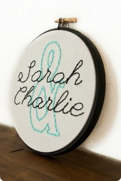 custom embroidery hoops