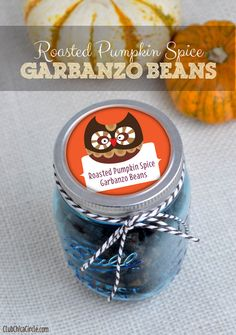 Homemade Roasted Pumpkin Spice Garbanzo Beans recipe by Club Chica Circle