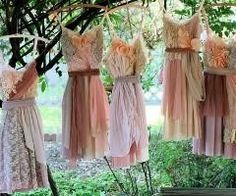 love these...vintage bridesmaid dresses:)