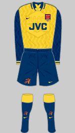 1996-1997 Arsenal Kit