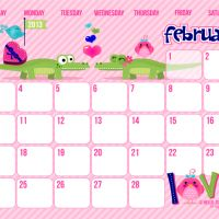 {Free Version} 2013 Calendar Printable .... all 12 are so cute!