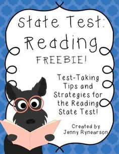 Reading State Test FREEBIE! Do's and Don'ts!
