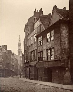 vintage london, muffins, old buildings, old london, time travel, druri lane, the muffin man, ghosts, old houses