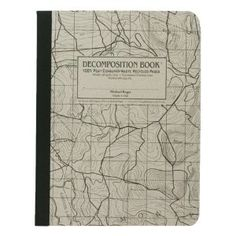 Michael Roger Topographical Map Decomposition Book