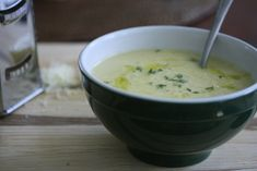 Cauliflower, Sharp Cheddar, and Thyme soup