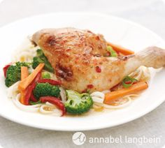 Anabel Langbein - Lemon Grass and Chilli  Baked Chicken. This is my go-to meal when time is tight - it takes only a few minutes to throw together. http://www.annabel-langbein.com/
