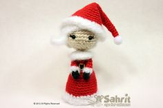 Ravelry: Mrs. Santa Claus Amigurumi Doll pattern by Sahrit Freud-Weinstein