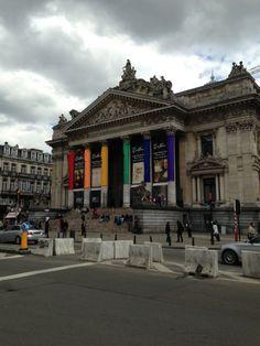 Beurs van Brussel / Bourse de Bruxelles - Brussels Stock Exchange