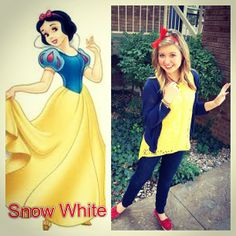 Family Ever After....: Disney Inspired Outfit: Snow White disney outfits, famili, disney trips, casual disney inspired outfits, inspir outfit, princess outfits, disney inspired casual outfits, disney fashion, snow white