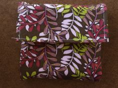 Mini Cloth Envelope System: Great for Cash Budgeting