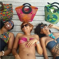 Embrace your #Curlfriends  Items by:  www.nana-wax.com