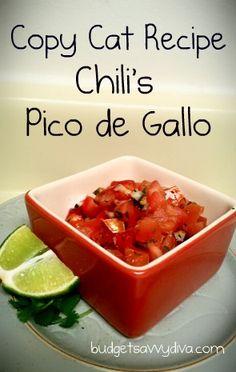 Copy Cat Recipe - Chili's Pico de Gallo