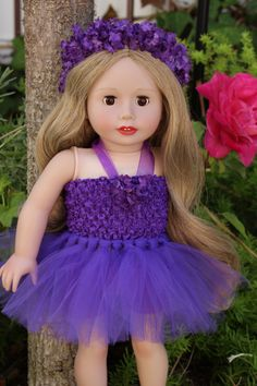"""Tutus for 18"""" Doll and American Girl. Worn by Harmony Club Doll, Sara Grace. Doll & outfit available at www.harmonyclubdolls.com"""