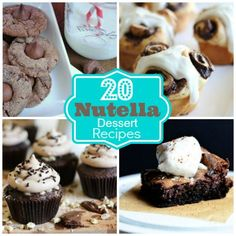 Nuts About Nutella: 20 Nutella Dessert Recipes  Spoonful