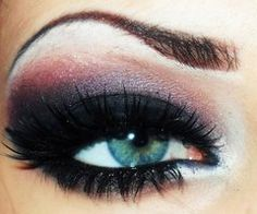 Pretty eyeshadow idea