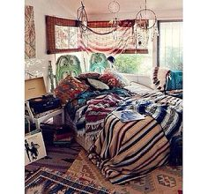 boho room idea